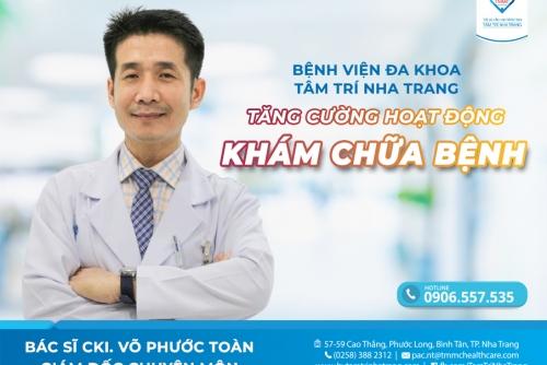 Bệnh Viện Đa Khoa Tâm Trí Nha Trang tăng cường các hoạt động Khám chữa bệnh